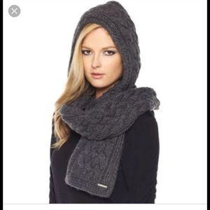 Micheal Kors hooded scarf